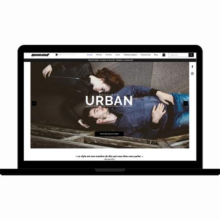 Lancement de notre site e-commerce : Boutique Urban 💻