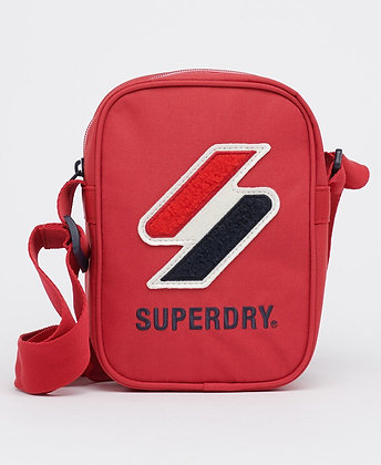 SUPERDRY Petite Sacoche Sportstyle Rouge