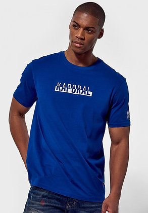 KAPORAL T.Shirt slim Dino Newblu imprimé en relief