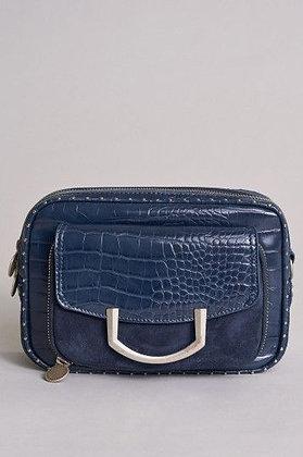 "SALSA Petit sac bandoulière "" INVICTA "" bleu"