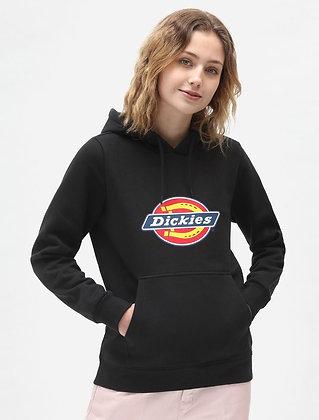 DICKIES Sweat à capuche Icon Logo noir