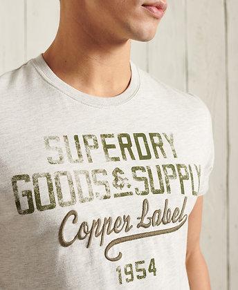SUPERDRY T.Shirt Workwear Graphic Lightweight