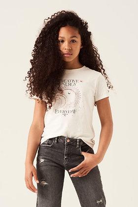 GARCIAT-shirt blanc avec imprimé G12401