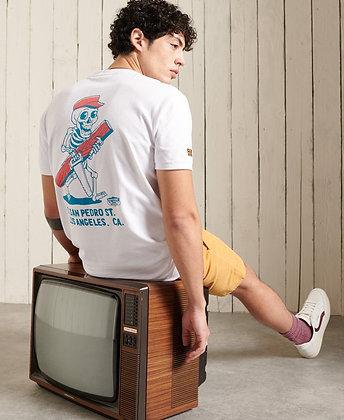 SUPERDRY T.Shirt Workwear Box white