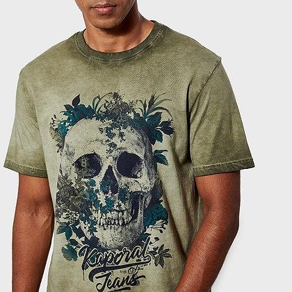KAPORAL t-shirt Vopok tête de mort kaki