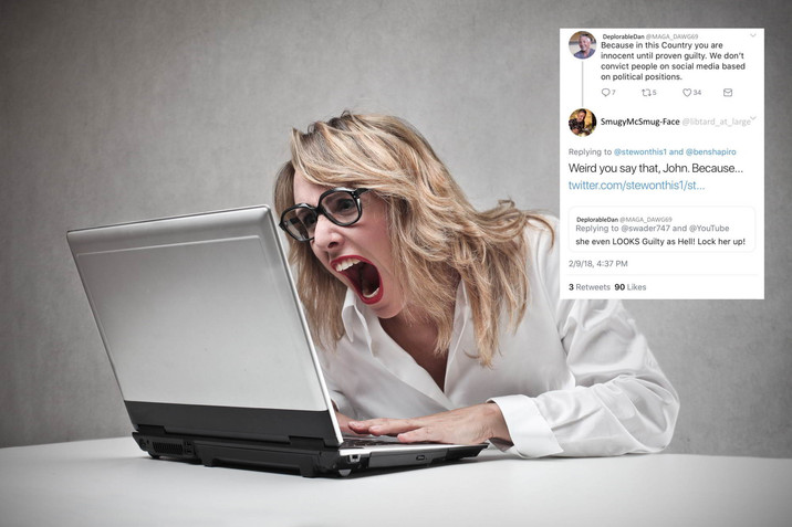 Area Woman Furious Twitter Rival Keeps Winning Arguments
