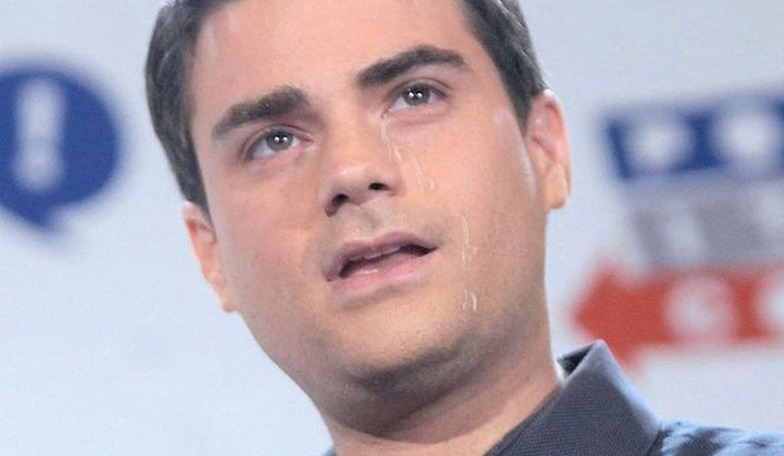 Ben Shapiro Reduced To Tears: 'I Thought Facts Would Care About MY Feelings'