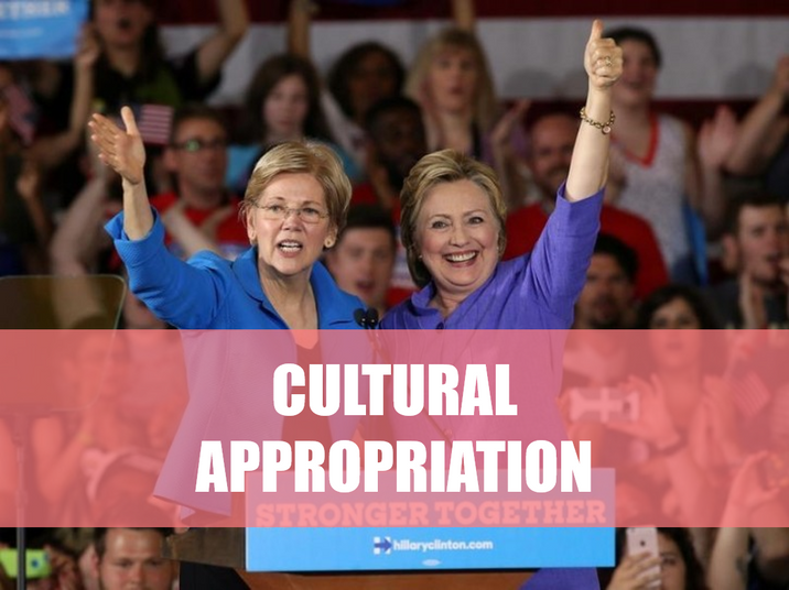 Hillary's APPROPRIATION of MY CULTURE