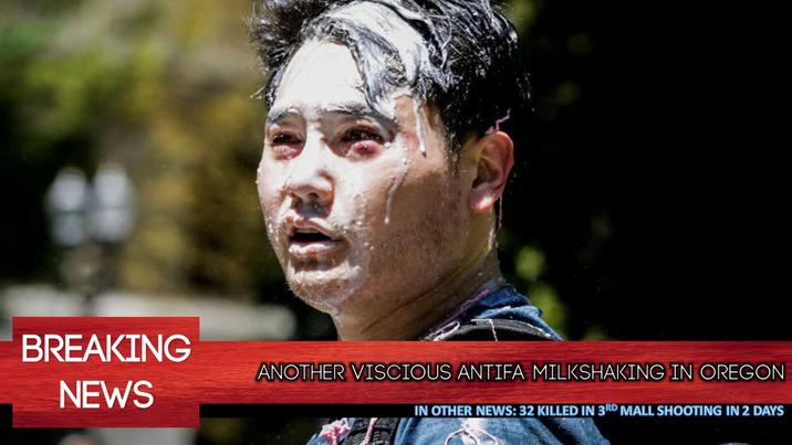 Antifa Violence Surges: AGAIN IN OREGON