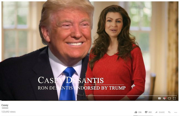 Trump-Voter 'Pretty Sure' Candidate Ron Desantis Would Let Trump F*ck His Wife