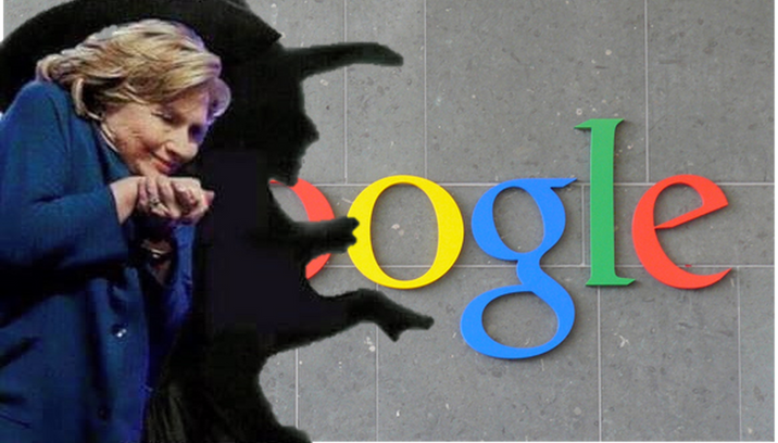 Caught: GOOGLE Fixing Polls For Hillary