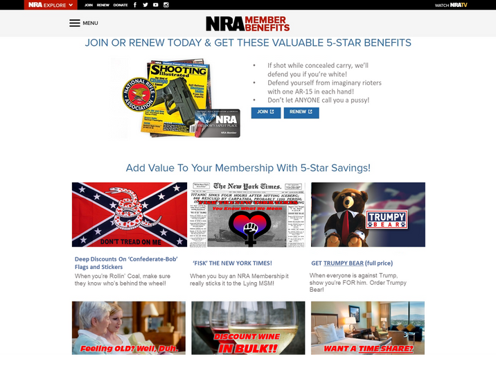 NRA Loses Major Corporate Partners In Wake of Shooting