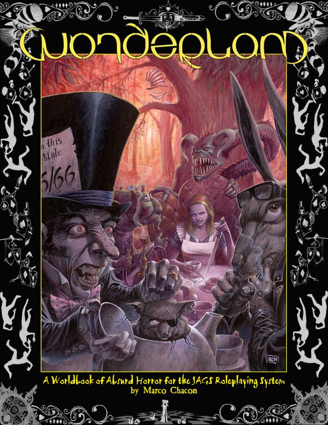 JAGS Wonderland -- Revised