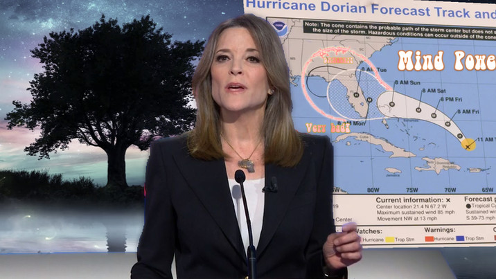 Marianne Williamson Concerned Trump-Followers May Push Storm To Alabama