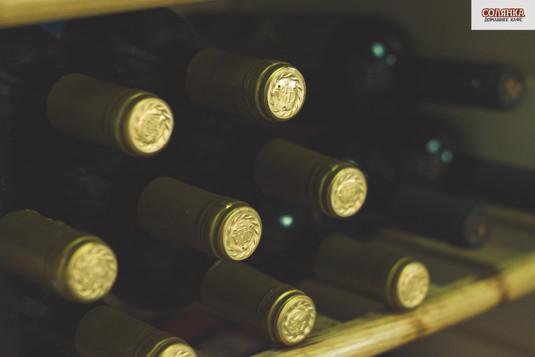 Большой выбор вина