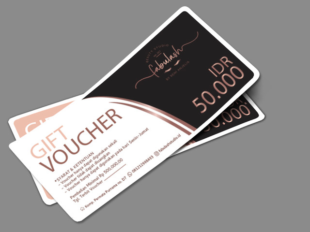 Gift voucher for Fabulash