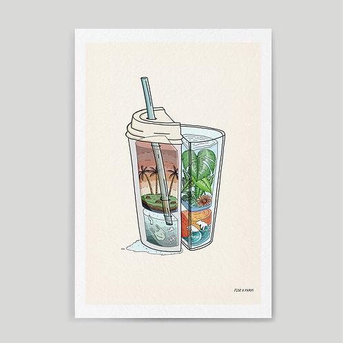 Flor de Pampi: Eco Glass