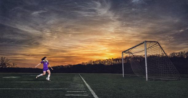 Natalie-Sunrise-Soccer-Session