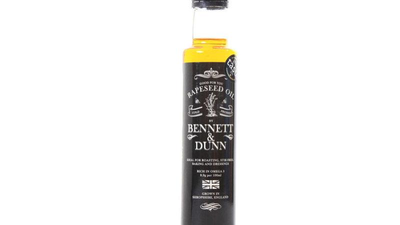 Bennett & Dunn - Cold Pressed Rapeseed Oil 250ml