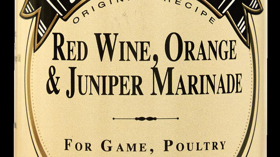 Jethro's - Red Wine, Orange & Juniper Marinade 250ml