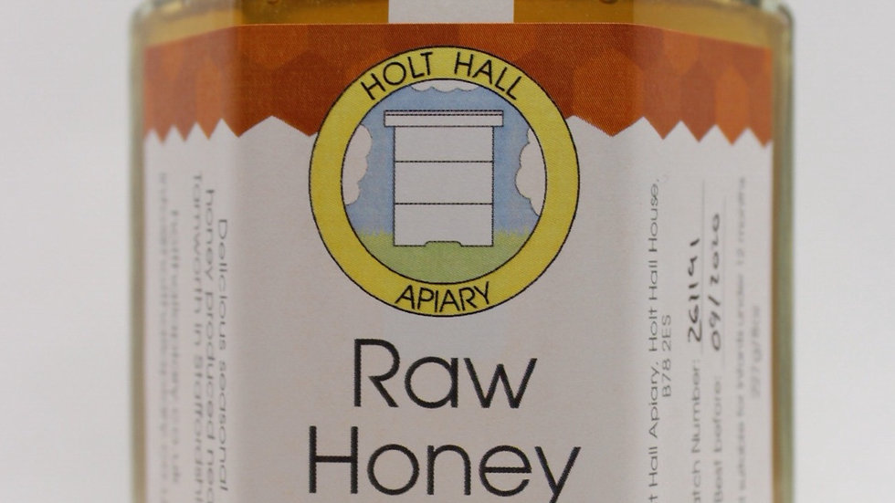 Holt Hall Apiary - Runny Raw Honey 227g
