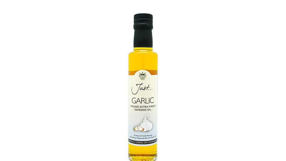 Just Oil - Garlic Infused Cold Pressed Rapeseed Oil 250ml