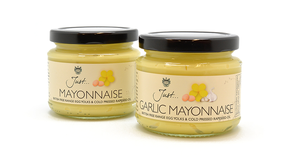 Just Oil - Just Garlic Mayonnaise 165g