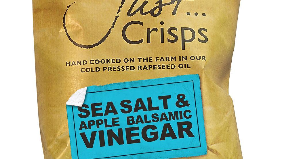 Just Crisps - Sea Salt & Apple Balsamic Vinegar 150g