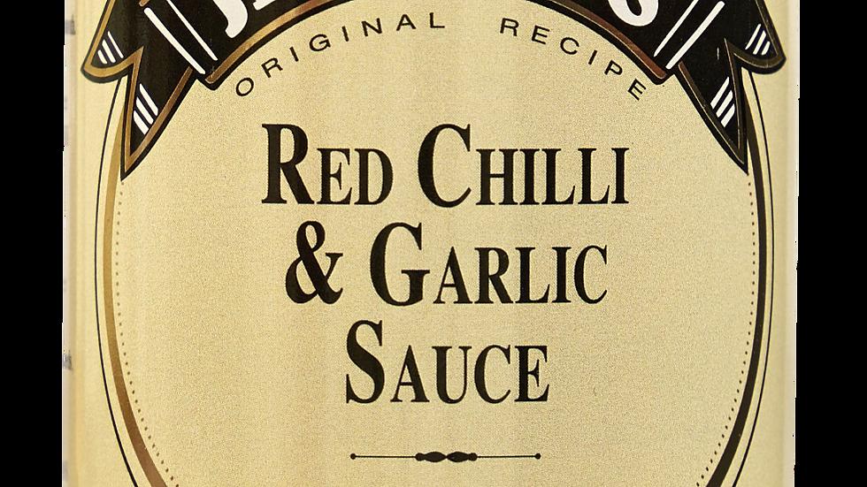Jethro's - Red Chilli & Garlic Sauce 250ml