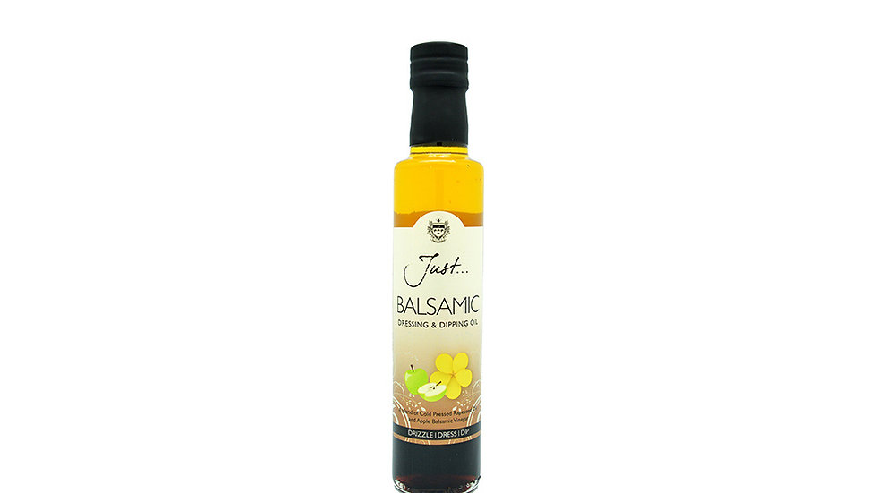 Just Oil - Apple Balsamic Vinegar and Rapeseed Dipping Oil 250ml