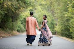 Photo Shoot Before Sangeet