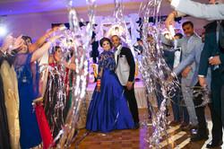 Bride and Groom Entrance in Coronado