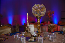 Europe Themed Reception