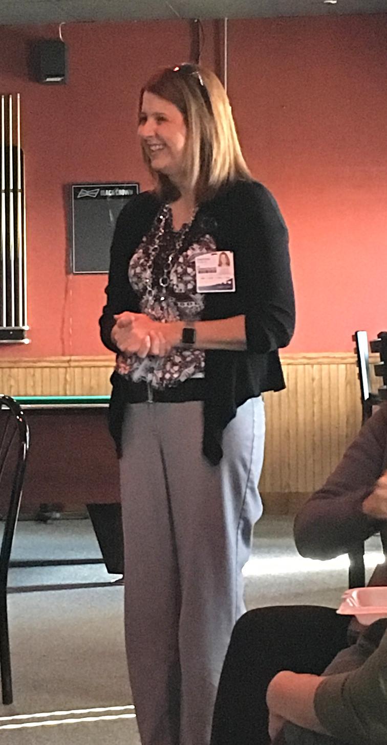 Guest speaker Stephanie Laws