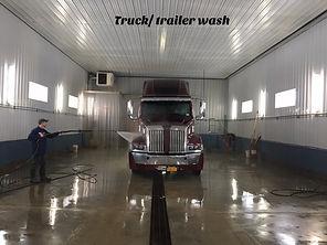 Truck trailer wash Cuba NY