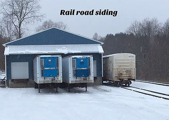 Rail road siding Sargent Transportation in Cuba NY