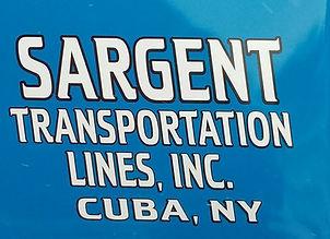 sargent transportation lines