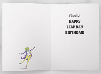Happy Leap Day Birthday