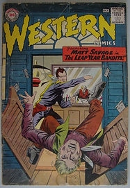 "DC WESTERN COMICS featuring MATT SAVAGE in ""THE LEAP YEAR BANDITS!"""
