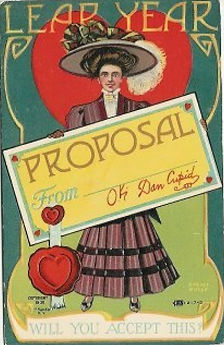 LEAP YEAR Will you accept this? 1908