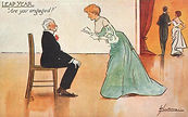 """LEAP YEAR """"Are you engaged?"""" 1904"""