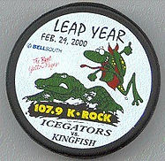 Leap Year ad for Icegators vs Kingfish
