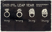 Cause and effect of the LEAP YEAR Engagement Ring
