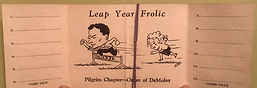 Leap Year Februray 29, 1936
