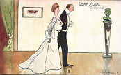"LEAP YEAR ""Collared."" 1904"