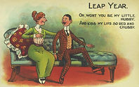 LEAP YEAR Oh, wont you be my Little Hubby