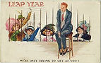 "Fred Spurgin LEAP YEAR ""We're Only Trying To Get At You! 1912"