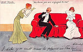 """LEAP YEAR """"You know you are engaged to me!"""" 1904"""