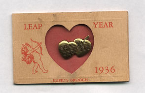 Cupid's Brooch LEAP YEAR 1936. LeapinLinda, Owner