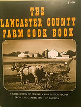 THE LANCASTER COUNTY FARM COOK BOOK Lear Year Cake